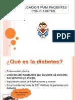 Educacion Para Ptes Dbt y Dg
