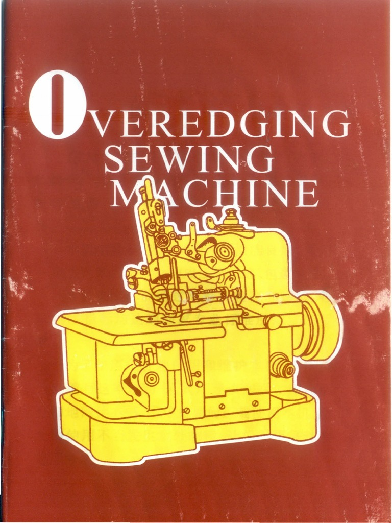 Gn1 Overlock Machine Manual In English Sewing Blade Necchi Supernova Threading Diagram Vintage