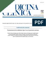 Tratamiento de La Diabetes Tipo 2 en El Paciente Anciano