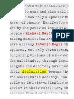 Declaration - Negri & Hardt (1)