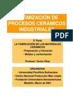 Optimización de Procesos Ceramicos Industriales No. 2