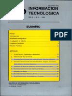 Información Tecnologíca 1994