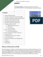 Delhi Transco Limited - Wikipedia, The Free Encyclopedia