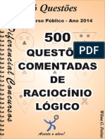 Soquestoes - Raciocinio Logico-500 Questoes Comentadaspdf