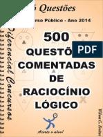 Soquestoes - Raciocinio Logico-500 Questoes Comentadaspdf