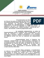 """Ofício - Convite para o evento  """"Inclusão digital como instrumento de aperfeiçoamento e integração social"""""""