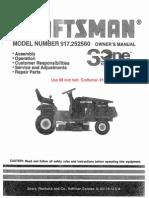 Craftsman Riding Mower 917.252560
