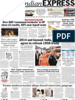 Indian Express 05 August 2014