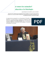 Conferencias de Jesús Mosterín en La UNAM