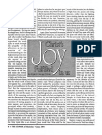1994 Issue 5 - Christ's Joy Fulfilled in Us - Counsel of Chalcedon