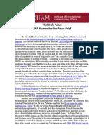 The Ebola Virus - IIHA News Brief