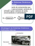 Modelagem de Sistemas Dinâmicos - Aula 1