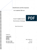Talent Identification and Development_Academic_Review