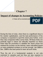 Impact of Changes in Accounting Policies