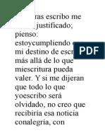 Borges Justificación Del Escritor