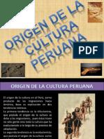 Origen de La Cultura Peruana