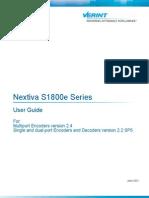 Nextiva S1800e Series User Guide