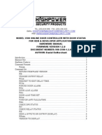 Highpower 3500 Hardware Manual