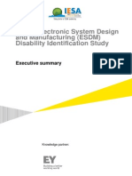 IESA EY Indian ESDM Disability Identification Report Executive Summary