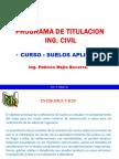 SUELOS - INTRODUCCION