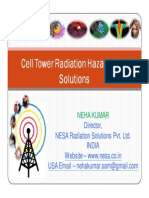 Cell Phone / Cell Tower Radiation Hazards and Solutions