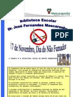 CARTAZ - DIA DO NÃO FUMADOR