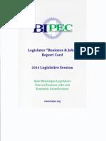 BIPEC 2014 Report Card