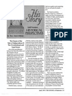 1995 Issue 4 - The Causes of the War of Independence Part 2, The Constitutional and Legal Issues - Counsel of Chalcedon