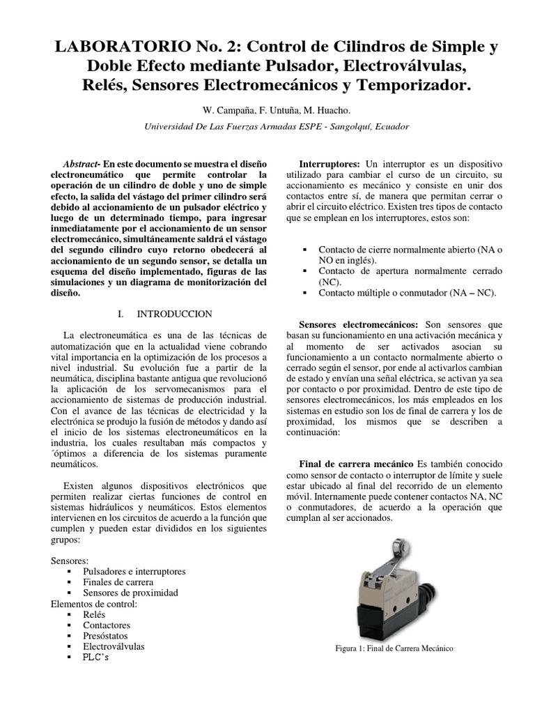 Lab2 Campaña Untuña Huacho | Relé | Electricidad