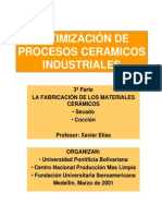 Optimización de Procesos Ceramicos Industriales No. 3
