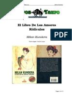 Kundera, Milan - El Libro de Los Amores Ridiculos