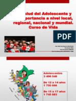 004 La Salud Del Adolescente y Joven Importancia a Nivel Global