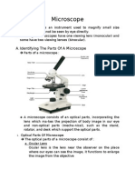  a Microscope is an Instrument Used to Magnify Small