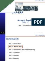 33245169 SAP Accounts Payable Master Data Http Sapdocs Info
