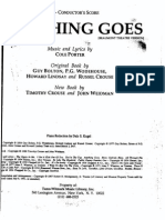 Anything Goes Piano Conductor Score