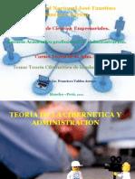 Tema 3. TEORIA Cibernetica y La Administración