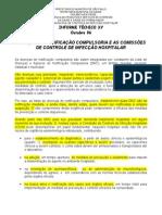 Doencas de Notificacao Compulsoria e as Comissoes de Controle de Infeccao Hospitalar 1254771022