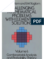Challenging Mathematical Problems Vol 1