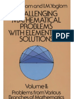 Challenging Mathematical Problems Vol 2