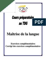 Cours préparatoire pour maîtriser le français.pdf
