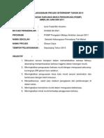 Laporan Pelaksanaan Projek Internship Tahun 2014