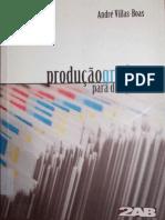 Produção Gráfica Para Designers - André Villas-Boas