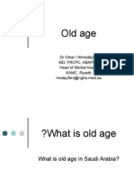9th lecture dev  Old age