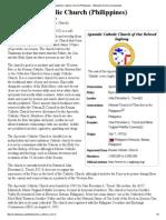 Apostolic Catholic Church (Philippines) from wikipedia