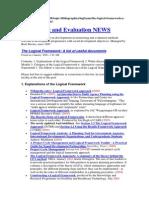 Bibliographies Logical Framework a List of Useful Documents