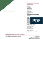 GAC - Relazione Componenti Acustici
