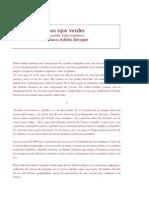 Los Ojos Verdes [Leyenda. Texto Completo.] Gustavo Adolfo Bécquer