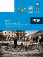 Syrian Civil War Socionomic Impact