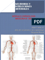 Clase Aneurismas y Obst Arteriales Uba