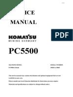 PC5500-D 15045-15065 Service Manual